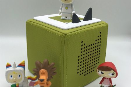 Toniebox mit Kreativ-Tonies Anleitung